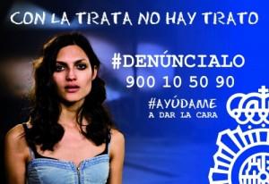 Comparte la campaña en redes sociales con los hashtags #Denúncialo y #contralatratanohaytrato