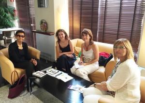 Reunión de la UNAF con Boge Gebre, fundadora y Directora Ejecutiva de KMG Etiopía en Madrid