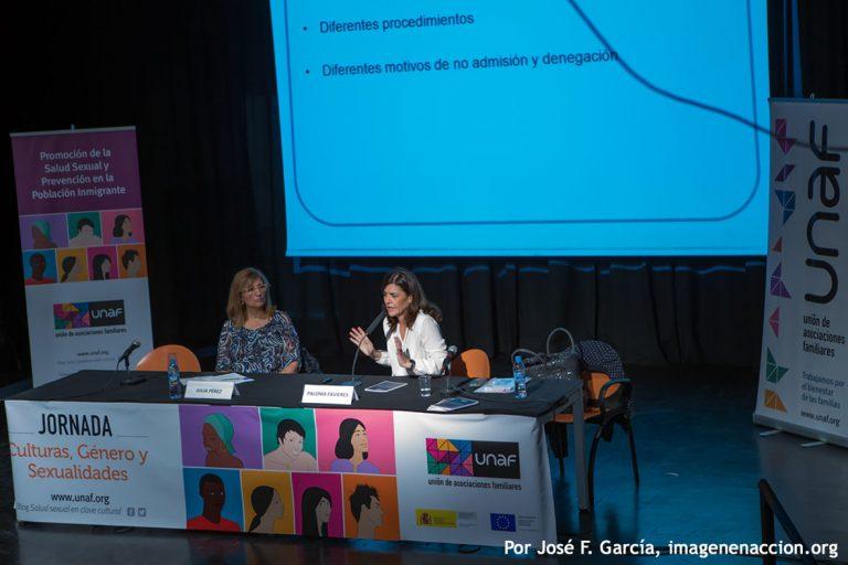 Paloma Favieres , responsable del Servicio Juridico de la Comisión Española de Ayuda al Refugiado (CEAR)
